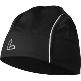 Löffler Windstopper Thermo-Velours-Light Bonnet, black